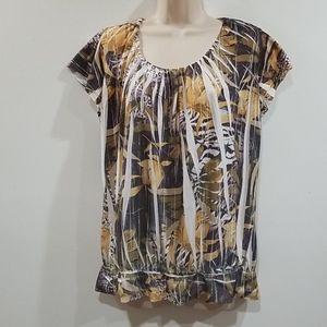 Cocomo woman multi color blouse